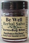 Be Well Herbal Salve 1 ounce